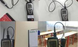 rilievo delle temperature al Distretto scolastico di Mirano