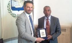 L'assessore provinciale Speranzon incontra il ministro sudanese Babiker