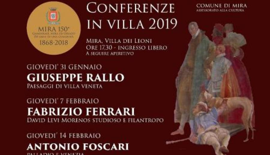 Conferenze in villa a Mira
