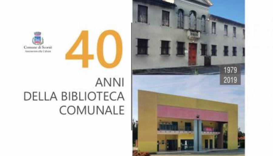 40 anni della biblioteca di Scorzè
