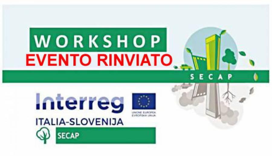 Workshop progetto SECAP rinvio