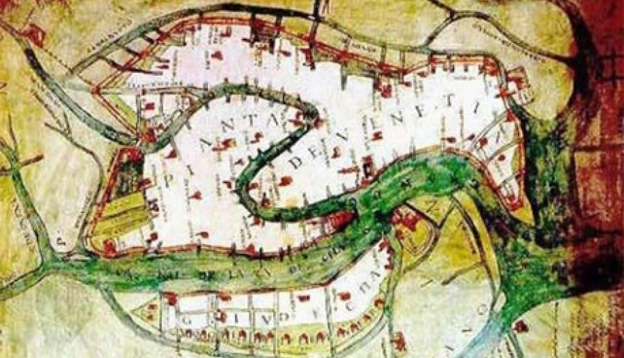 Mappa di Venezia (Cristoforo Sabbadino, 1487 - 1560)