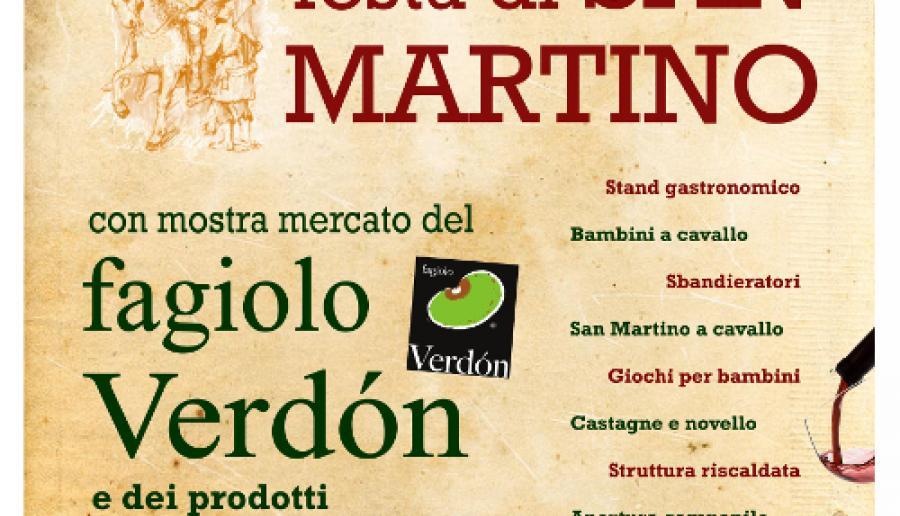 Festa di San Martino e la Prima mostra mercato del fagiolo Verdón