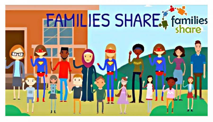 webinar family share (frame tratto dalla presentazione video del CityLab del Comune di Venezia)