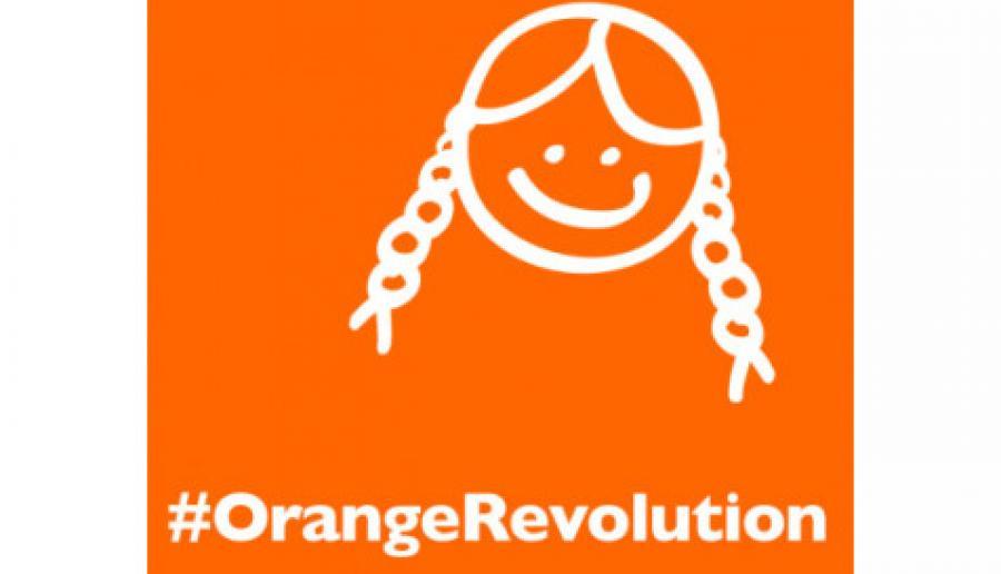 #OrangeRevolution