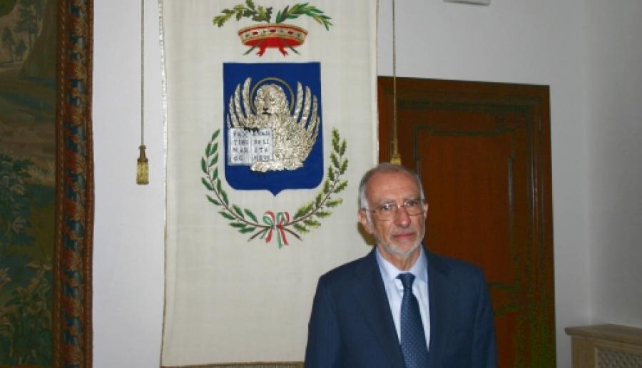 il commissario prefettizio Cesare Castelli