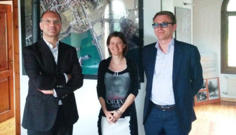 da sin.: Natalino Manno, Patrizia Daneluzzo e Giuseppe Canali