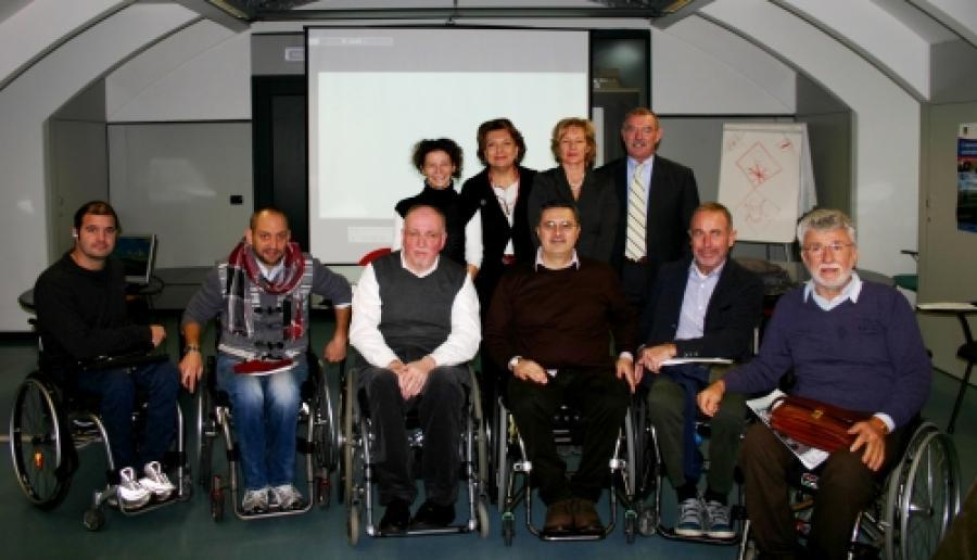 presentazione della nuova associazione paratetraplegici a Mestre
