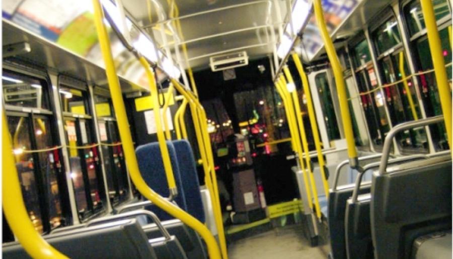 interno di autobus
