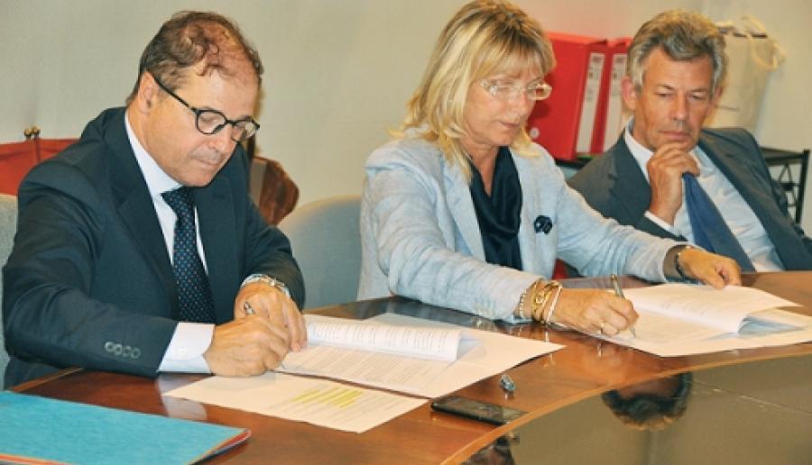 da sin.: Vittorio Zappalorto, Francesca Zaccariotto e Stefano Nen
