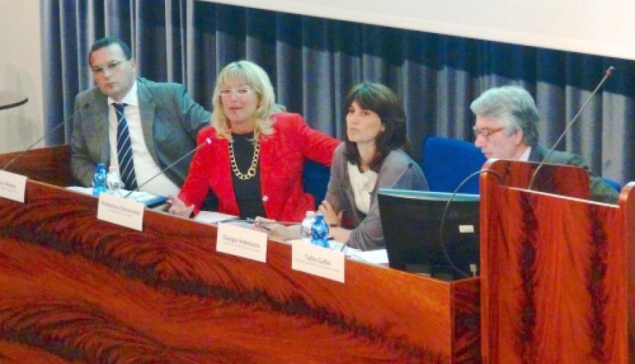un momento della presentazione dei dati del turismo veneziano nel decennio 2004-2013