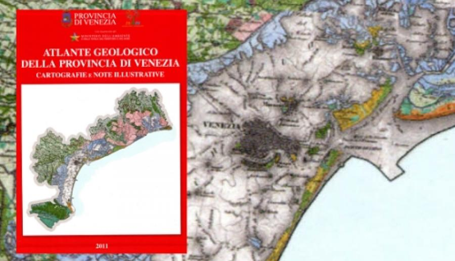 atlante geologico della provincia di Venezia