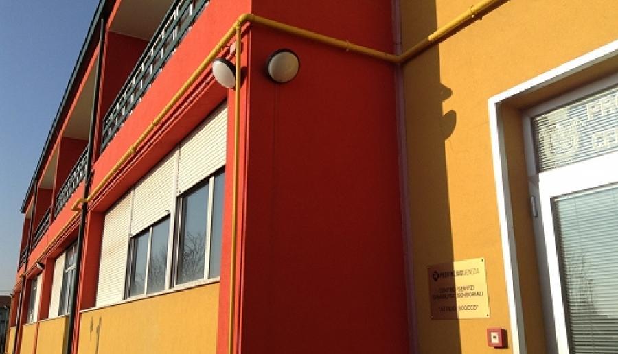 Mestre, la sede del Centro servizi per disabili sensoriali