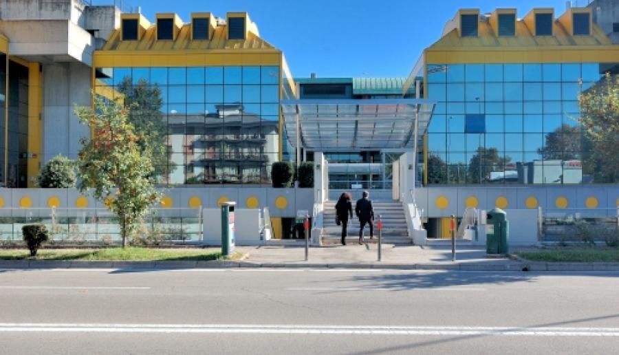 Mestre, accesso al Centro per l'Impiego della Provincia (foto: Mario Fletzer)