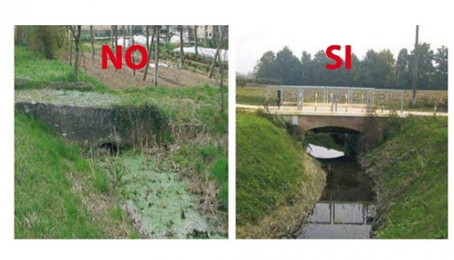esempio di buona manutenzione per il sistema idrogeologico del territorio