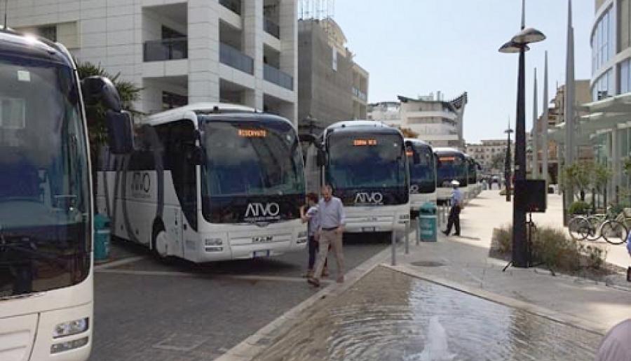 bus di Atvo per il trasporto pubblico locale