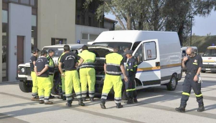 squadra di protezione civile